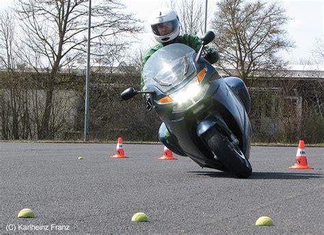 Fahrsicherheitstraining Motorrad Hammelburg gebietsverkehrswacht hammelburg
