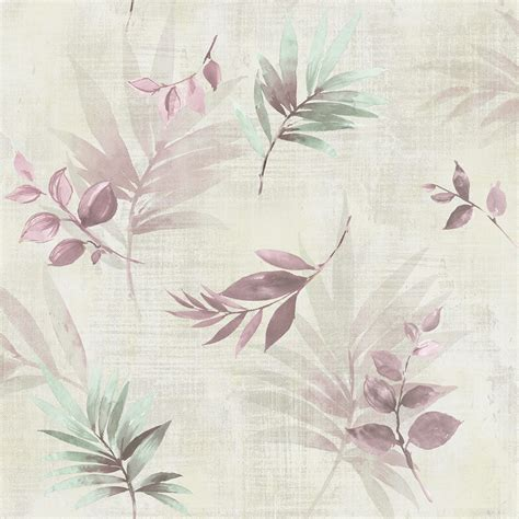 dusty pink wallpaper uk nh10409 falling leaves dusty pink senzai wallpaper