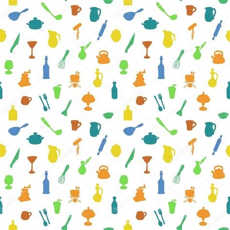 kitchen pattern vector free seamless kitchen pattern vector illustration textures