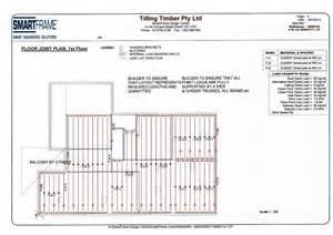 bearers and joist house plans house plans