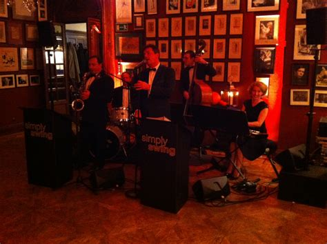 london swing society simply swing at savile club london wedding simply swing