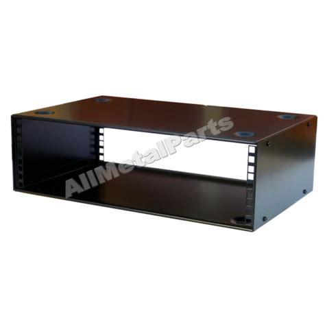 3u Rack by 3u 19 Inch Stackable Rack Cabinet 400mm Allmetalparts