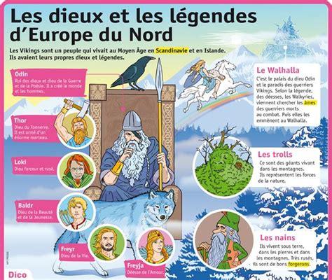 Educational Infographic Fiche Expos 233 S Les Dieux Et Les