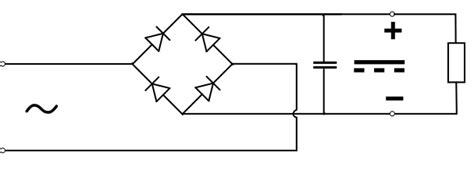smoothing capacitor for bridge rectifier function of capacitor in rectifier 28 images file diode bridge smoothing svg wikimedia