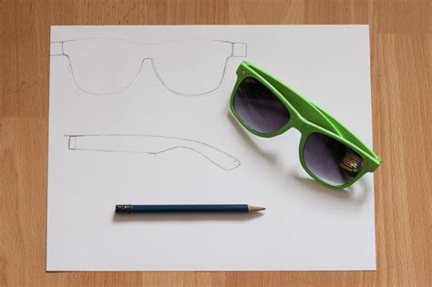 How To Make 3d Glasses Out Of Paper - how to make glasses out of paper 28 images paper