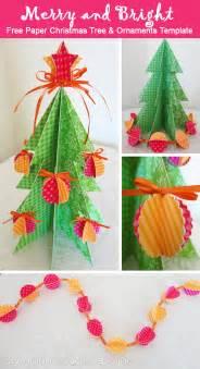 Free christmas tree and ornament printable 25 handmade christmas