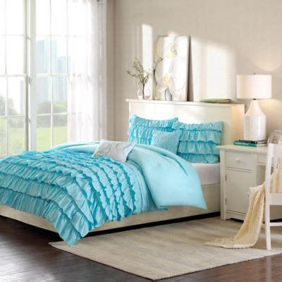 white ruffle twin comforter buy white ruffle comforter from bed bath beyond