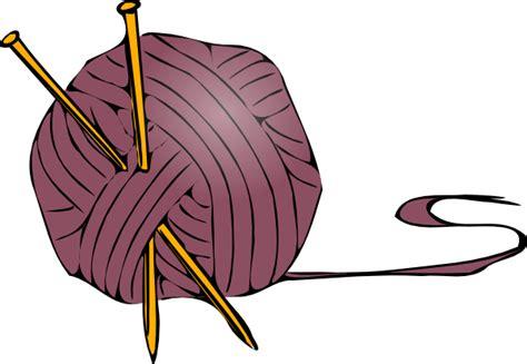 clipart yarn knitting yarn needles 2 clip art at clker vector