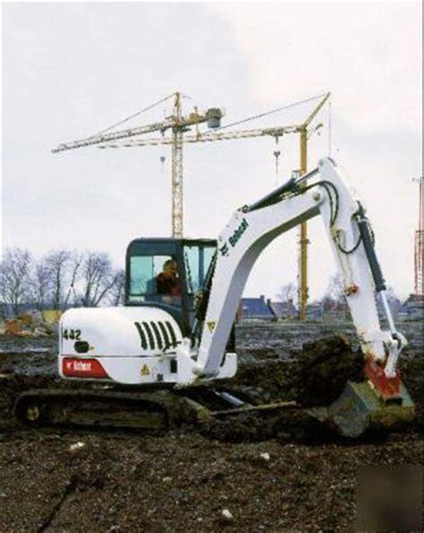 zero tail swing excavator bobcat 442 excavator zero tail swing 16000 lbs