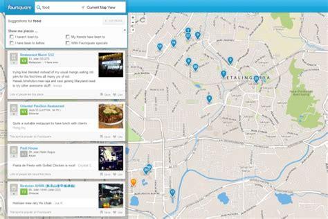 Foursquare Search Foursquare Opens Local Search For Everyone Hardwarezone