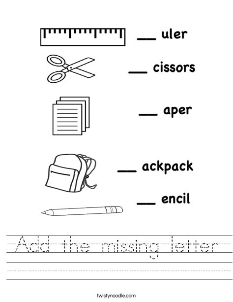 worksheet missing letter worksheets mifirental free printables worksheets for students