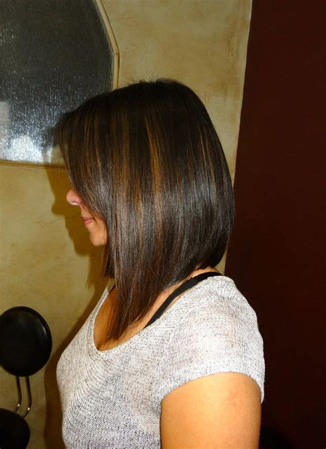 pic of back of aline ahaircuts 25 trending long aline haircut ideas on pinterest long