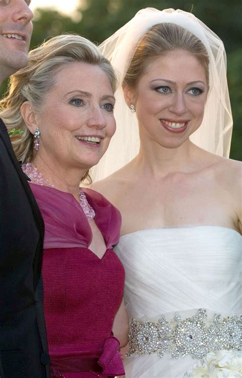 Chelsea Clinton Wedding Gown by Clinton Of The Dress Cocktail