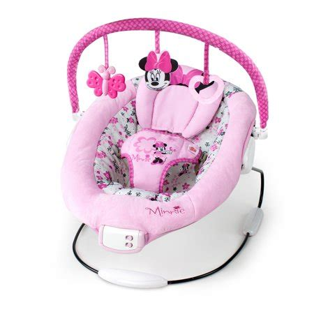 Minnie Mouse Baby Swing - disney baby minnie mouse garden delights bouncer walmart