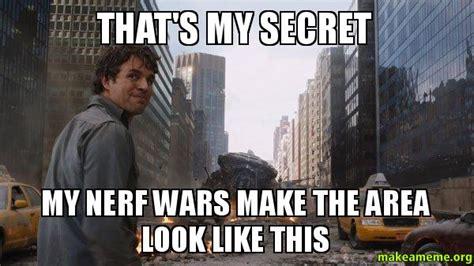 Nerf Meme - nerf war memes