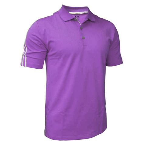 7 Golf Shirts For by Sale Adidas Golf Climacool 3 Stripes Mens Performance