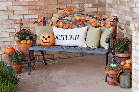 fall deck decorating ideas 85 pretty autumn porch d 233 cor ideas digsdigs