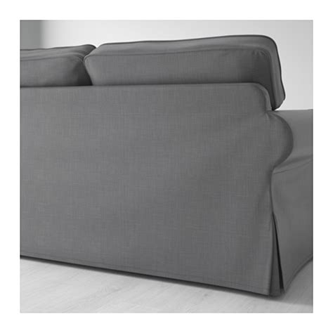 grey ektorp sofa ektorp two seat sofa nordvalla dark grey ikea