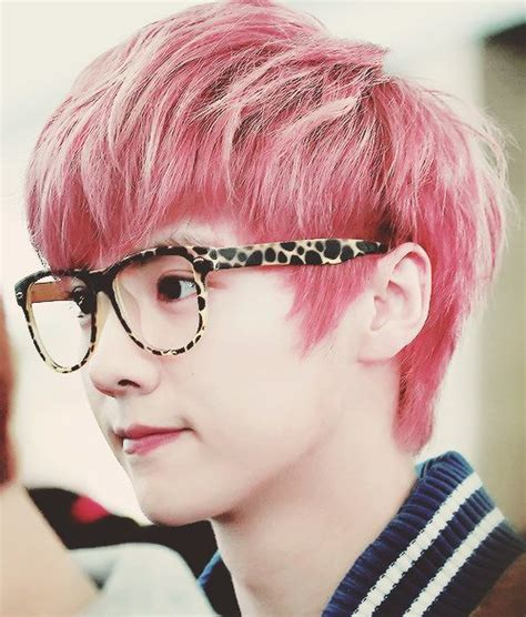 Pink Luhan | exo luhan pink hair exo pinterest colors exo and hair