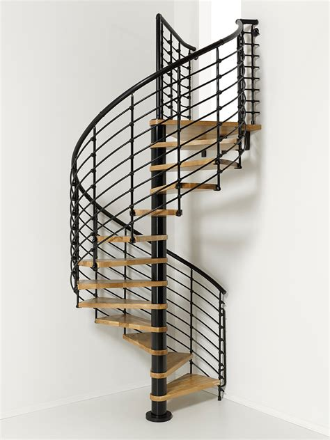 Spiral Staircase by Oak70 Xtra Metal Steel And Wood Spiral Staircase Fontanot