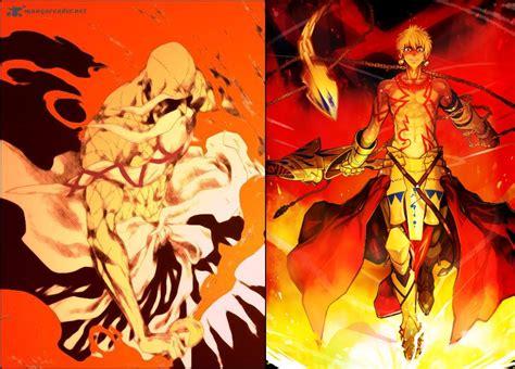 anime bleach genryusai gilgamesh f sn vs genryūsai shigekuni yamamoto bleach