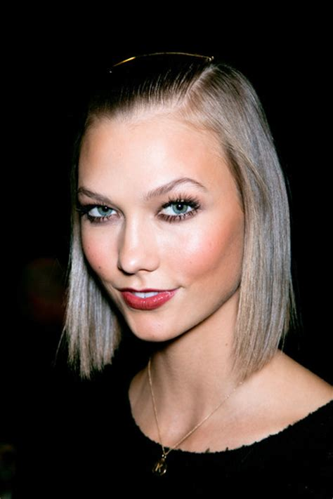 how to style karlie kloss haircut stylenoted for donna karen karlie kloss goes straight