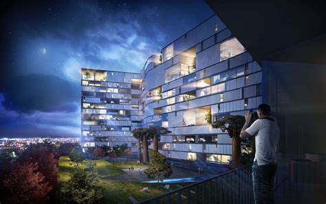 Office Interior Rendering villas in the sky the proposed glover 57 apartments in