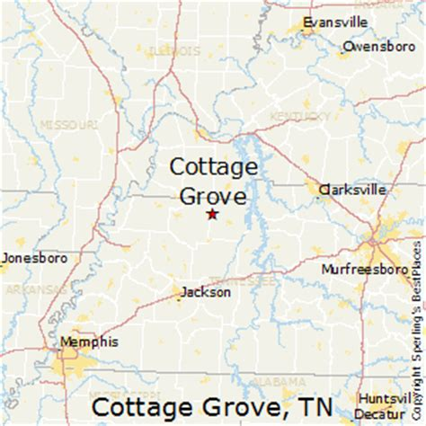 cottage grove map best places to live in cottage grove tennessee