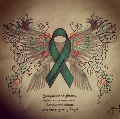 ovarian cancer tattoos designs 25 best ideas about ovarian cancer on