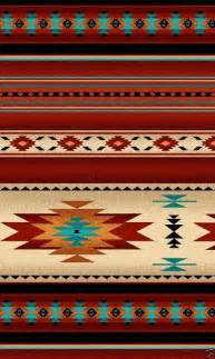 Native american indian blanket fabric brick red 30 available bthy