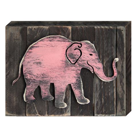 elephant home decor elephant decorative shabby chic rustic wooden board home