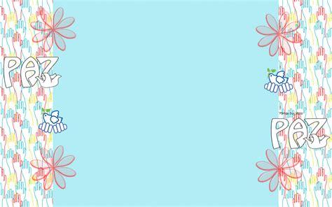 imagenes infantiles sobre la paz fondos para blog vane fondo para el d 237 a de la paz
