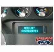 2011 Ford F350 Trailer Brake Controller