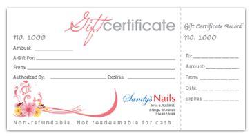 printable numbered gift certificates orange county printingselect graphics and printing print