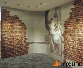 wandgestaltung wohnzimmer stein freund gmbh