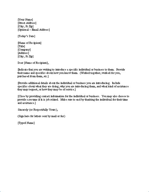 Sales Introduction Letter Exles sales introduction letter write an introduction letter