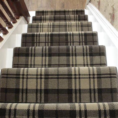 tartan rugs and runners brown stair runner rug tartan carpet runners uk
