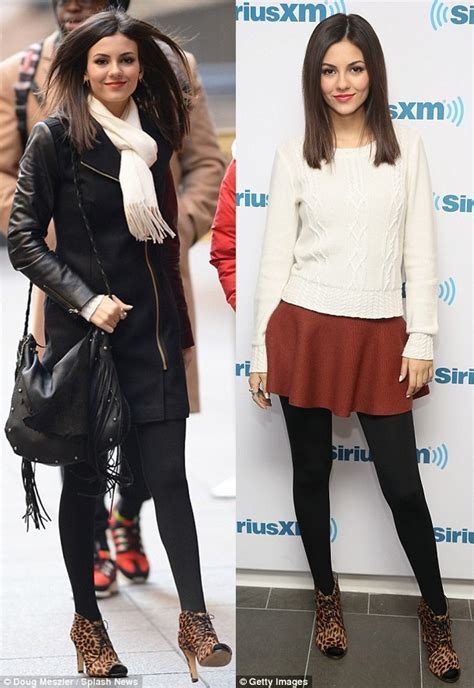 victoria justice adds a dash of sass with leopard print boots victoria justice adds a dash of sass with leopard print