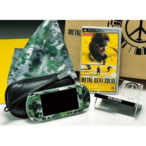 Po Import Console Psp Metal Gear Solid Peace Walker Premium psp 3000 metal gear solid peace walker konamistyle limited edition new nin nin