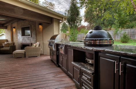 Great Ideas For Small Bathrooms Select Outdoor Kitchens Traditional Deck Other Metro