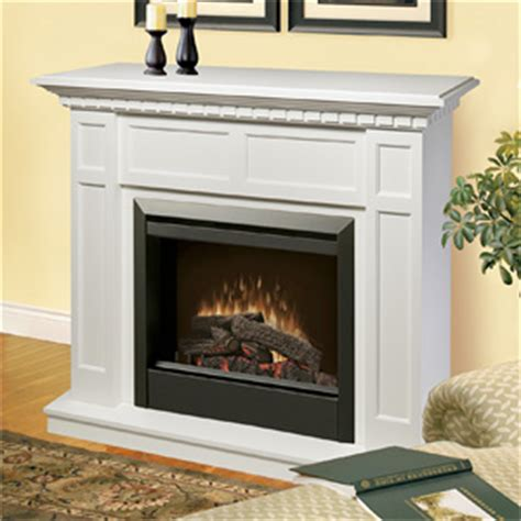 White Mantels Fireplace by Caprice White Electric Fireplace Mantel Package In White