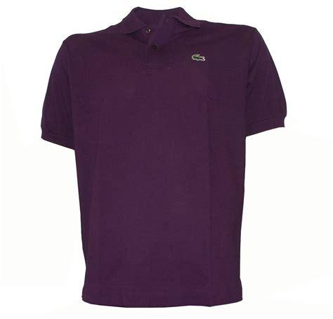 Polo Shirt Locoste lacoste purple polo shirt polo shirts from designerwear2u uk