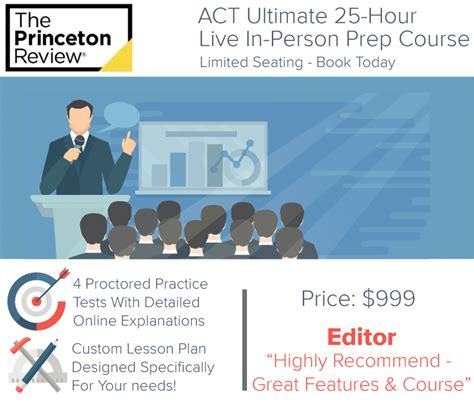 Top Mba Prep Courses by Princeton Review Act Ultimate Classroom Prep Courses