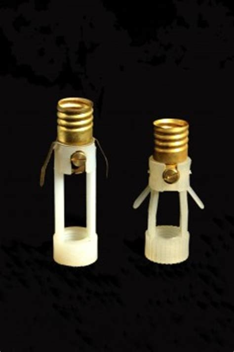 douille pour lustre douille ancienne en plastique 224 visser