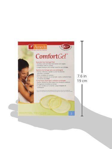 ameda comfort gel pads ameda comfortgel hydrogel pads import it all