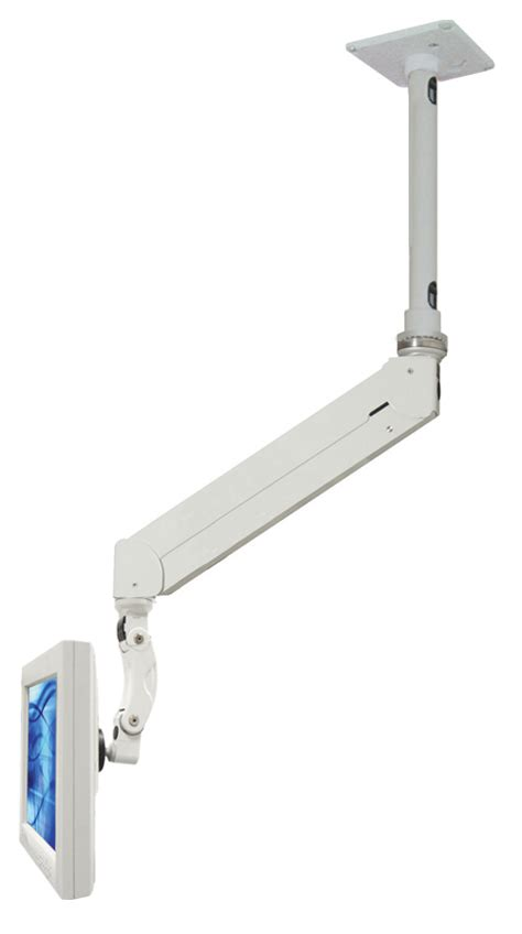 Ceiling Mount Monitor Arm by Elite With Quicklink Single Arm Lcd Ceiling Mount