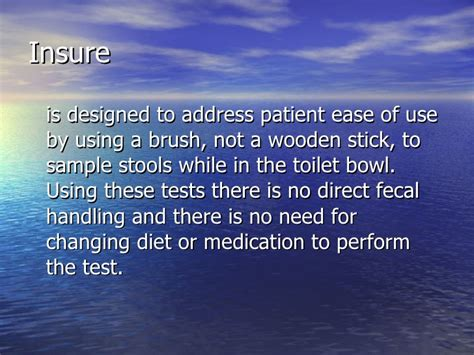 Stools That Stick To The Toilet Bowl by Stool Occult Blood Test