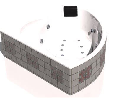 vasche da bagno ad angolo vasche da bagno 3d vasca da bagno ad angolo con