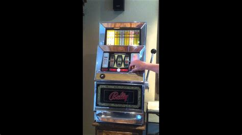 bally  cent model   coin single pay  multiplier slot machine  sale youtube