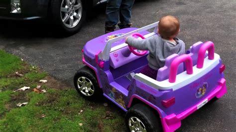 Disney Princess Jeep Lylly S Rc Princess Jeep